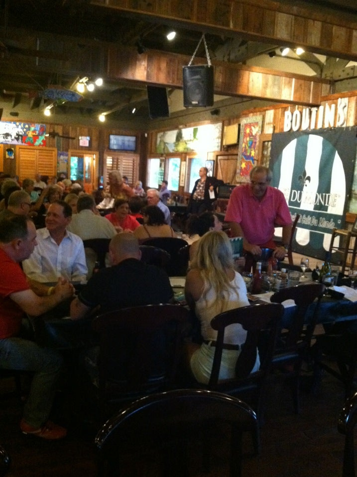 Meanwhile... Back at Cafe Du Monde tonight at Boutin's - Great lineup and turnout.