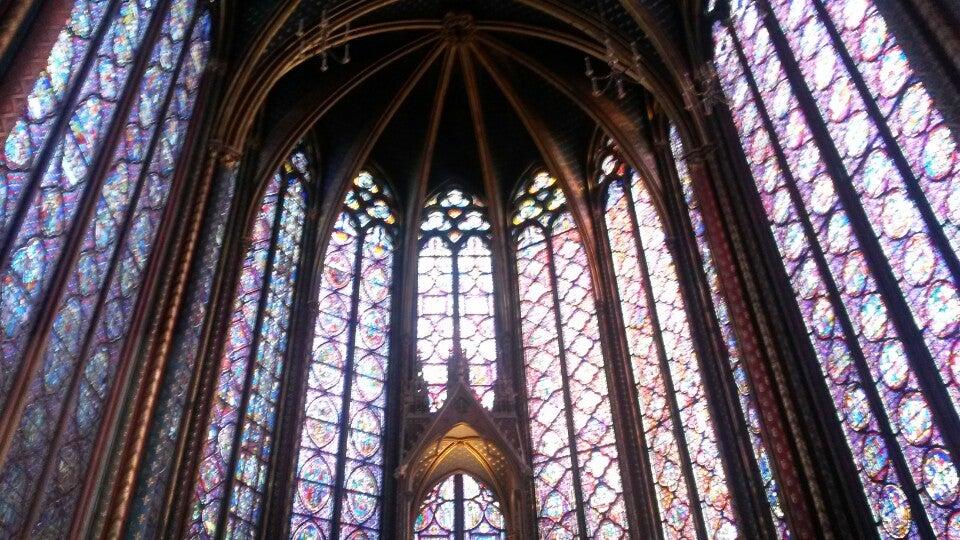 Natascia just checked in @ Sainte-Chapelle (Paris, France)