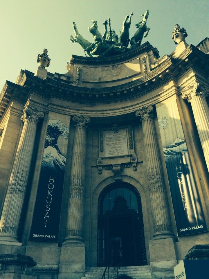 Vernissage #Hokusai entrée Clemenceau