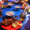 Foto Wandi Putra Samba spesial Pecel Lele, Jakarta