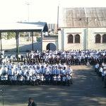 Photo taken at Colegio Oratorio Don Bosco by Chiquitita M. on 3/8/2012