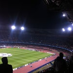Photo taken at Stadio San Paolo by Black B. on 10/18/2011