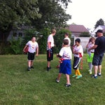 Photo taken at Grover Cleveland School by Edwina L. on 8/16/2014