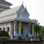 Photo taken at วัดพระราม ๙ กาญจนาภิเษก (Rama IX Golden Jubilee Temple) by Onizugolf on 7/22/2013