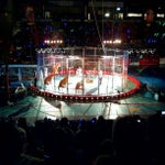 Photo taken at Hartman Arena by Theophilus F. on 2/16/2013