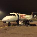 En provenance de Rennes avec Hop. Très bon vol et hôtesses serviables et pro
