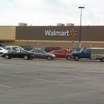 Photo taken at Walmart Supercenter by GRAY on 4/24/2013