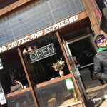 Photo taken at Redline Coffee and Espresso by Georgia on 3/17/2013