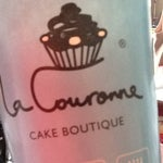 Photo taken at La Couronne Cake Boutique by Constanza C. on 11/11/2012