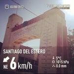 Photo taken at Santiago del Estero by Tania C. on 8/3/2013