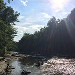 Photo taken at Flat Rock by Keith H. on 7/27/2014