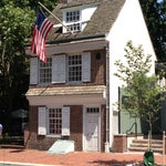 Photo taken at Betsy Ross House by Jaclyn B. on 7/7/2013