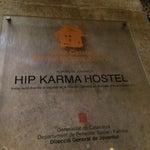 Photo taken at Hip Karma Youth Hostel Barcelona by Anton M. on 5/17/2014