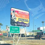 Photo taken at California / Nevada State Line by Sam T. on 12/7/2012