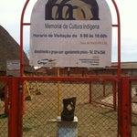 Photo taken at Memorial da Cultura Indígena by Roberto A. on 8/23/2013