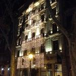 Photo taken at Hotel Acta Atrium Palace by Tema C. on 1/4/2013