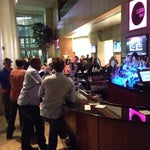 Photo taken at Westin Lobby Bar by Dee A. on 3/14/2014