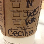 Photo taken at Starbucks by Cecilija M. on 10/26/2012