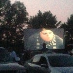 Photo taken at Holiday Drive In Theater by Doug B. on 7/4/2013