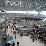 wear comfy shoes - one of the biggest airports in Asia and it is always busy. immigration line is like the US x2 and after a 14-hours flight utilize the VIP lounges and rest areas for ice coffee!