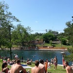 Photo taken at Barton Springs Pool by George on 4/28/2013
