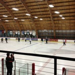 Photo taken at The Rinks Anaheim Ice by Michelle R. on 8/21/2013