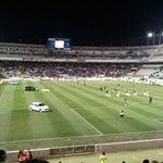 Photo taken at Estadio Manuel Martínez Valero by Isidro D. on 1/26/2013