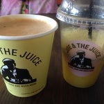 Mmm! #joejuice had an exellent choice of juices and coffees, I had a very jummy and spicy 'joe's amg' :-))
