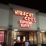 Photo taken at Hibachi Grill Supreme Buffet by Michael M. on 12/28/2012