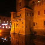 Photo taken at Castello Estense by Roy M. on 12/30/2012