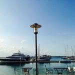Photo taken at Nongsa Point Marina & Resort by Missy on 12/14/2014