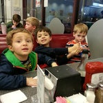 Photo taken at Johnny Rockets by TJ C. on 3/8/2014