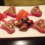 Photo taken at Mei Sushi by Scott F. on 11/26/2013