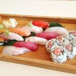 Photo taken at Linn Japanese Restaurant by tomomi m. on 6/26/2013