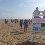Photo taken at Dagsworthy St. Beach by Katy O. on 7/9/2014