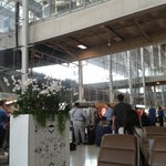 Beautiful designed interior of the airport with real orchids all over walls,perfectly nice staff and smoking zones available at each step.Use public taxi to get to the hotel for a fix prize.Recomended