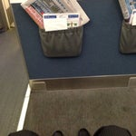 Small airport, easy check-in, i Was a Little bit late and upgraded for free to business, that Was nice))