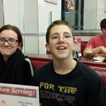 Photo taken at Johnny Rockets by Deeanne Q. on 12/15/2013