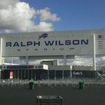 Photo taken at Ralph Wilson Stadium by Carlos C. on 9/15/2012