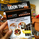 Map of Udontani is available at Information counter, near departure zone of the airport