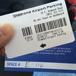 Photo taken at Diamond Airport Parking by Ben B. on 5/8/2014