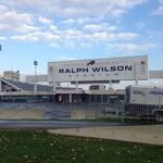 Photo taken at Ralph Wilson Stadium by Arif ~Mubashir H. on 10/18/2013