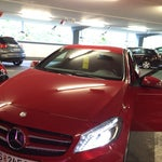 I was there to receive my rented car Mercedes 2014 copay, to starting my tour around...