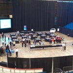 Photo taken at Hartman Arena by Wichita Metro Chamber of Commerce on 10/9/2013