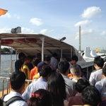 Photo taken at ท่าเรือพายัพ (Payap Pier)  N18 by Yo K. on 8/1/2013