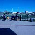 Photo taken at Tully Stadium by Eli G. on 1/14/2012