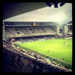 Photo taken at Estádio D. Afonso Henriques by Joao M. on 7/24/2013
