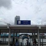 Photo taken at ท่าเรือพายัพ (Payap Pier)  N18 by NuNongka W. on 8/4/2013