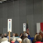 Photo taken at Dennis A Wicker Civic Center by Tom M. on 4/6/2013