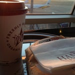 Photo taken at Pret A Manger by Ish H. on 4/13/2013